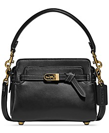 Tate 18 Leather Crossbody