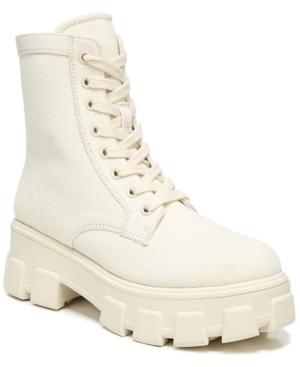 Women's Dane Canvas Lug-Sole Booties Women's Shoes