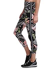 Sport Dizzy Tropics Printed Leggings