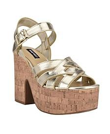 Women's Cheers Strappy Platform Sandals