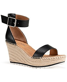 Sammi Two-Piece Wedge Sandals, Created for Macy's
