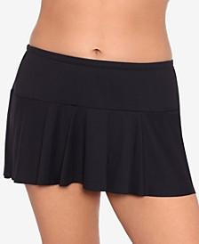 Plus Size Beach Club Swim Skirt