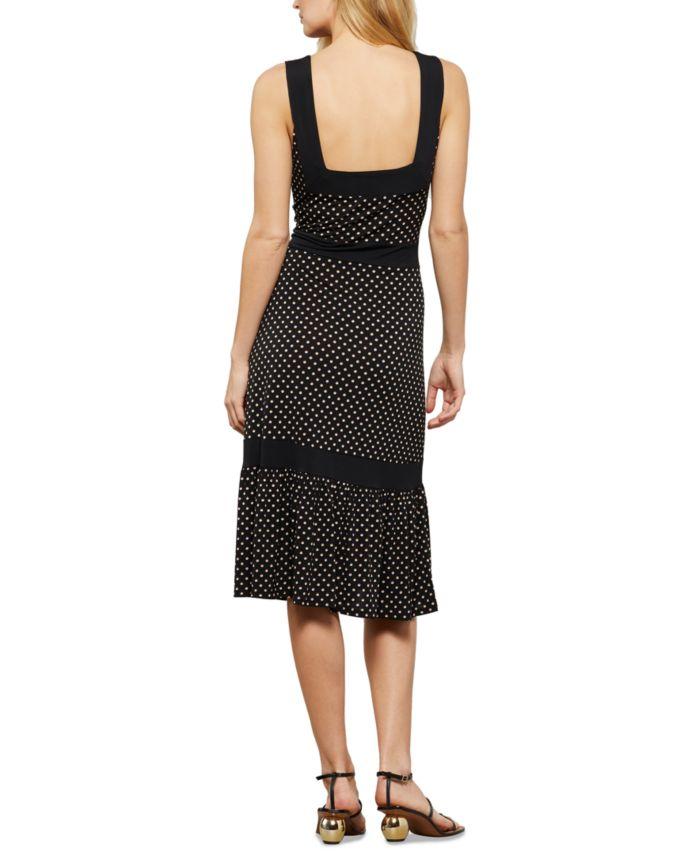 BCBGMAXAZRIA Dotted Knit Midi Dress & Reviews - Dresses - Women - Macy's
