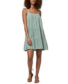 Juniors' Tana Striped Mini Dress