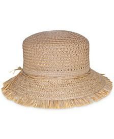 Packable Open Weave Bucket Hat