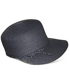 Black Packable Classic Braid Framer Hat