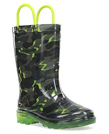 Kids Surf Camo Lighted Boot