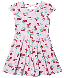 Toddler Girls All over Print Skater Dress