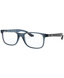 RX8903 Men's Square Eyeglasses