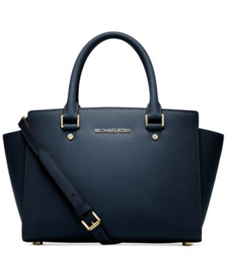 MICHAEL Michael Kors Selma Medium Satchel - Handbags & Accessories ...