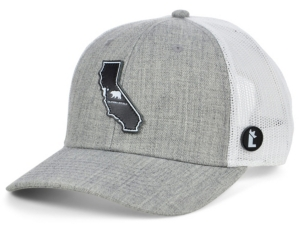 Local Crowns California The Overcast Curved Trucker Cap