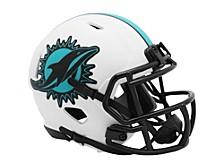 Miami Dolphins Speed Lunar Eclipse Alt Mini Helmet