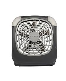 """5"""" Fan Battery Powered Fan With Lights, Set of 2"""