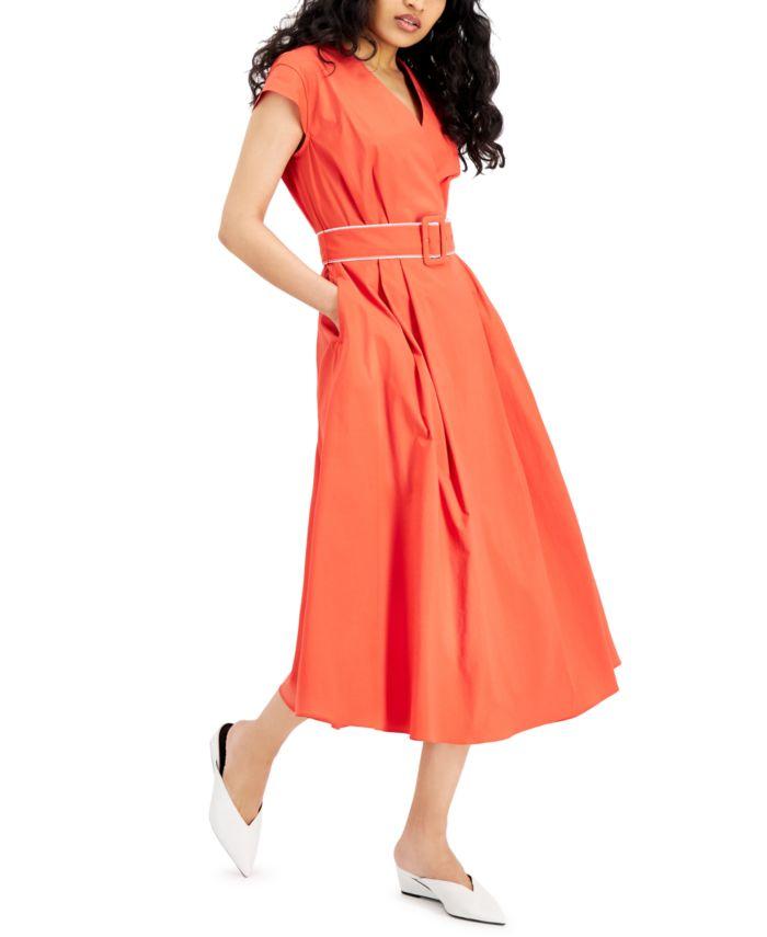 Marella Numero Poplin Dress & Reviews - Dresses - Women - Macy's