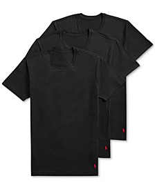 Men's to 4D Flex Lux Cotton Modal 3-pk Crews