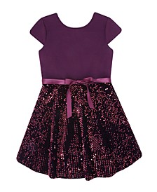 Big Girls Sequin Dress