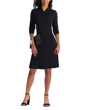 Women's Crossover Neck Dress