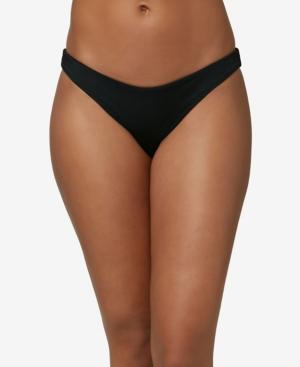 O'neill Juniors' Rockley Saltwater Solids Bottoms Women's Swimsuit In Black