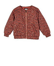 Toddler Girls Ellie Woven Quilted Jacket