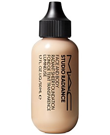 Studio Radiance Face & Body Radiant Sheer Foundation, 1.7-oz.