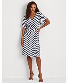 Petite Chevron Jersey Dress