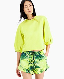 INC 3/4-Sleeve Sweatshirt, Created for Macy's