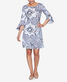 Plus Size DRS Tile Italia Puff Dress