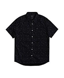 Men's Spilled Rice Short Sleeve Shirt