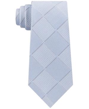Men's Texture Grid Tie