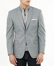 Men's Slim-Fit Plaid Blazer, Created for Macy's