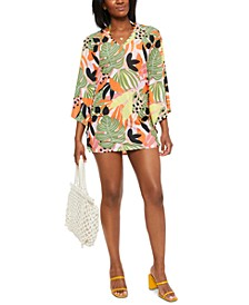Printed Caftan Cover-Up, Created for Macy's