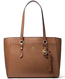 Sullivan Large Multifunction Leather Tote