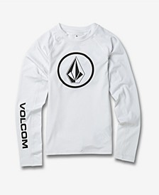 Big Boys Lido Solid Long Sleeve T-shirt