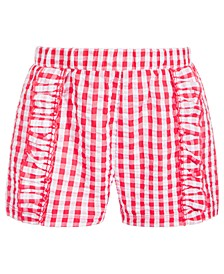 Toddler Girls Gingham Shorts, Created for Macy's