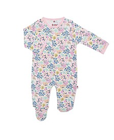 Baby Girl Victoria Magnetic Footie One Piece