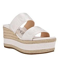 Women's Gia Slip-On Espadrille Wedge Sandals