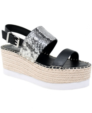 Charles By Charles David WOMEN'S SCALE PLATFORM WEDGE SANDALS WOMEN'S SHOES