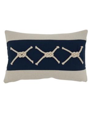 """Saro Lifestyle Pillows THROW PILLOW COVER, 20"""" X 12"""""""