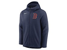 Boston Red Sox Men's Authentic Collection Therma Full-Zip Fleece Hoodie