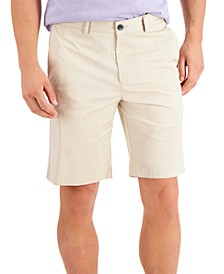 Men's Solid Chino Shorts, Created for Macy's