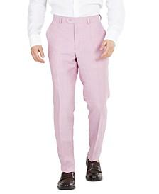 Men's Slim-Fit Linen Suit Pants, Created for Macy's