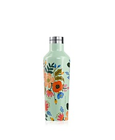 'Rifle' Paper Co. Gloss Mint Lively Floral Canteen, 16oz