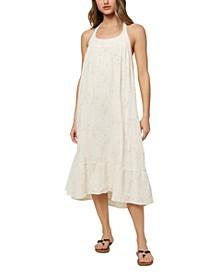 Juniors' Cotton Moira Dress