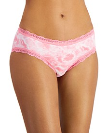 Women's Lace-Trim Tie-Dyed Hipster Underwear, Created for Macy's