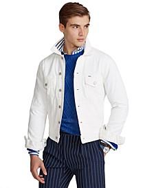 Men's Garment-Dyed Denim Trucker Jacket