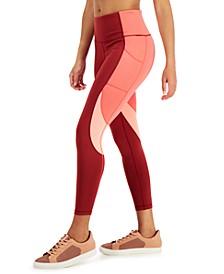 Women's Colorblock 7/8 Leggings, Created for Macy's