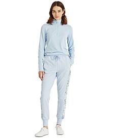 Stretch Cotton Jogger Pants