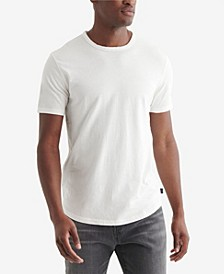 Men's Curved Hem Crew Shirt