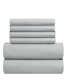 Seriously Soft 6 Piece Sheet Set, King Split
