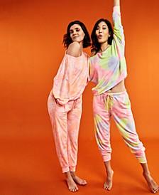 Super Soft Crew Sleep Top & Jogger, Created for Macy's